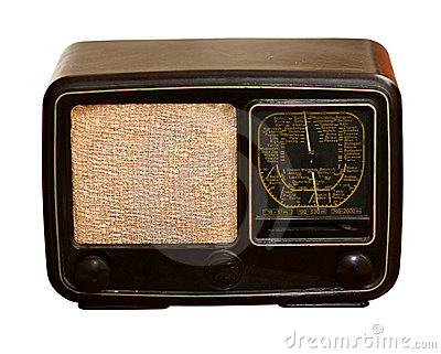 Old Radio Stock Images - Image: 10956074