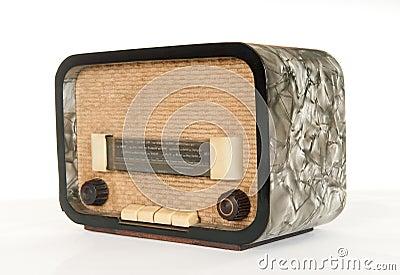 Old radio (50`s style)