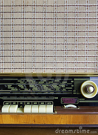 Free Old Radio - Player Royalty Free Stock Images - 3541629