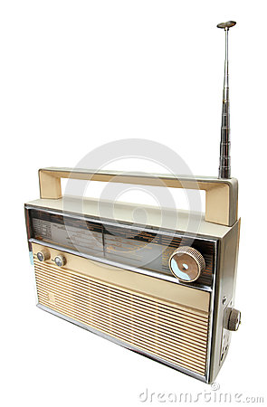 Free Old Radio Receiver Royalty Free Stock Photography - 27460177