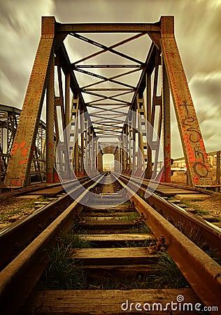 Free Old Railroad Bridge Stock Photo - 20472100