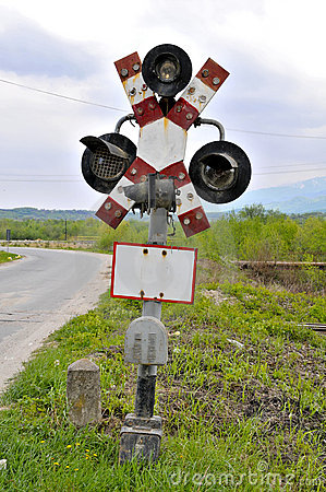 Old railroad crossing