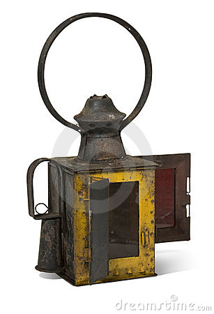 Free Old Railroad Lamp Old Railroad Lamp Royalty Free Stock Photography - 11976597