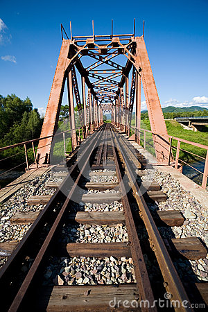 Free Old Railway Bridge Stock Image - 26418151