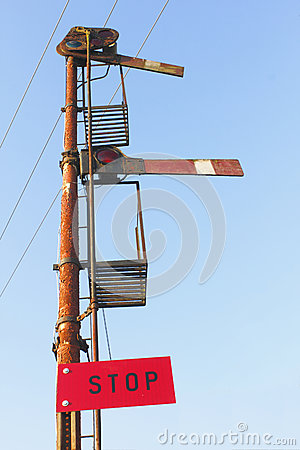 Old Railway Signal Post