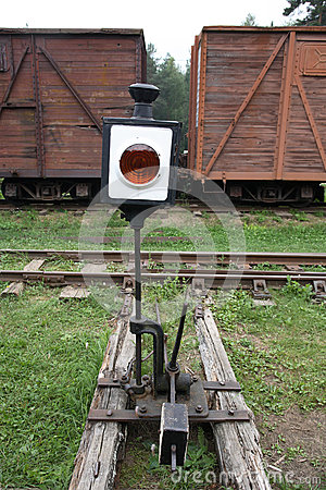 Old Railway Switch