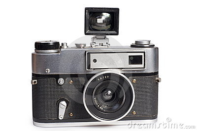Old  range finder camera