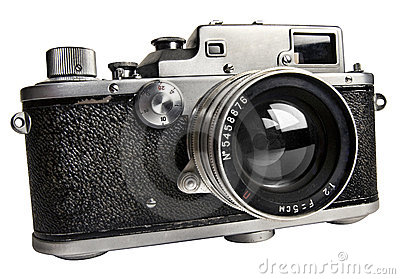 The old  range finder camera