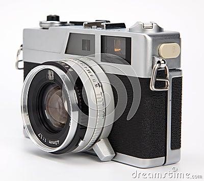 Old rangefinder camera