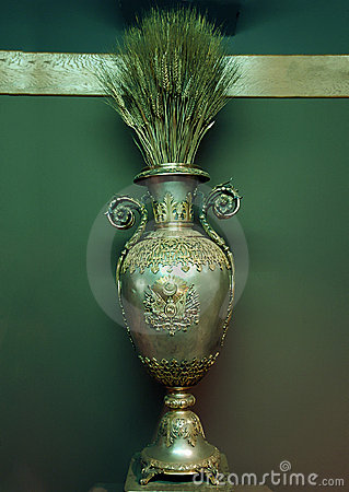 Old and rare oriental bronse vase