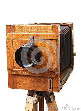 Old rarity photographic camera