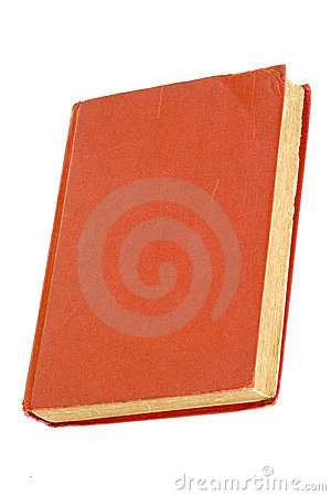 Old red hardcover book