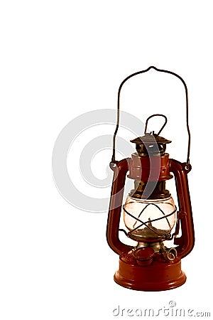 Free Old Red Lantern Stock Photos - 4120383