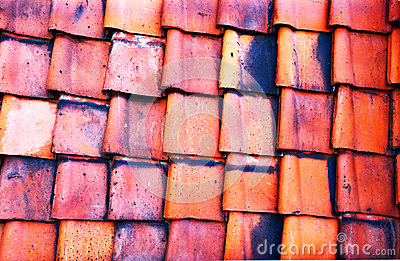 Old red tile