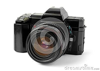 Old reflex camera