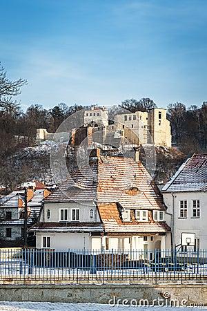 Old Renaissance castle in Kazimierz Dolny, Poland