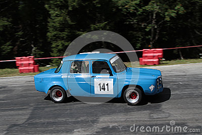 Old Renault Gordini Editorial Photography