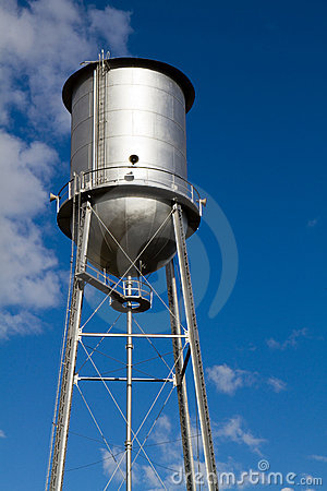 Old Restored Water Tower