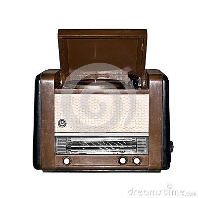 Old retro radio.