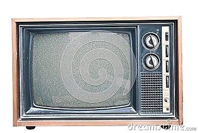 Old Retro TV noise