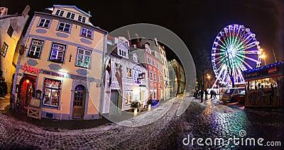 Old Riga, Latvia Editorial Photography