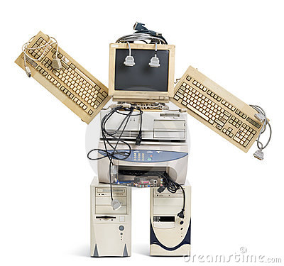 Free Old Robot Royalty Free Stock Photography - 10554337
