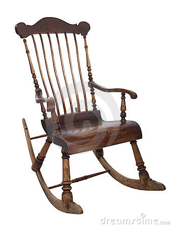 Free Old Rocking Chair Stock Photography - 3436172