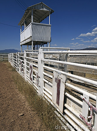 Old Rodeo Gates