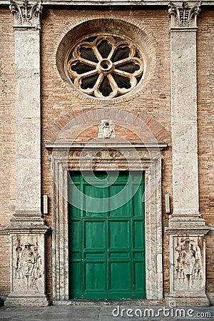Old roman facade