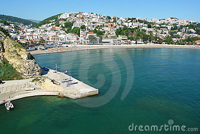 Old roman port of Ulcinj, Montenegro