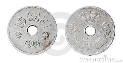 Old romanian coin