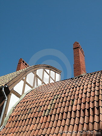 Old Roof Stock Images - Image: 15592734