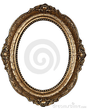 Old rounded frame