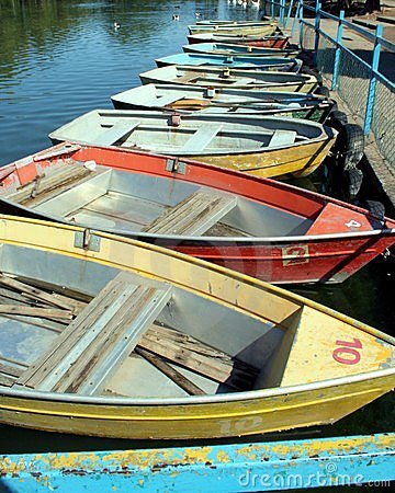 Old Row Boats