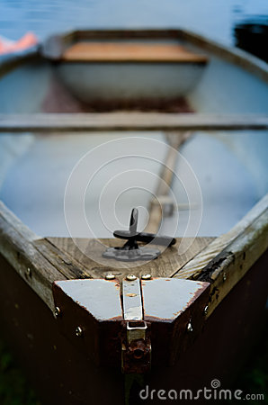 Free Old Rowing Boat Royalty Free Stock Photography - 40983257