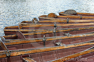 Old Rowing Boats