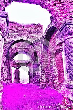 Free Old Ruin Church Crestin Ortodox Stock Photography - 111688102