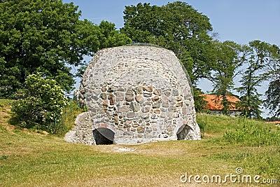 Old ruin in Skane