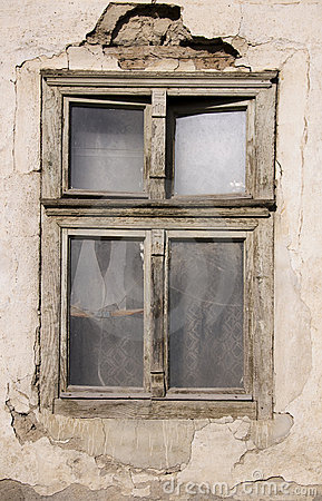 Old ruined window
