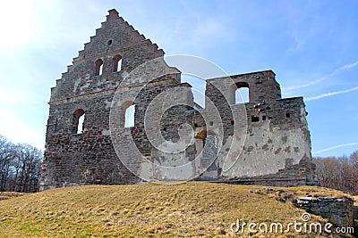 Old ruins landmark