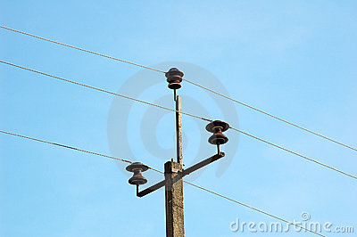 Old rural electric lines