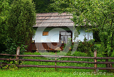 Old rural house