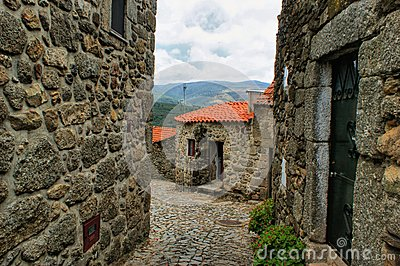 Old rural village of Linhares da Beira