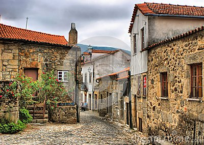 Old rural village of Linhares da Beira