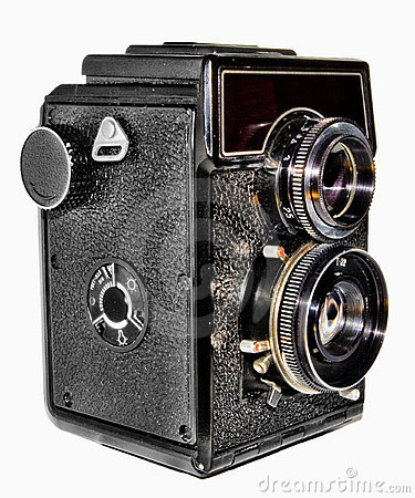 Free Old Russian Photo Camera Stock Photography - 8601562