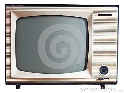 Old Russian TV set
