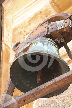 Free Old Rusted Church Bell Stock Photo - 45614550
