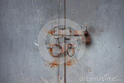 Old rusted gate