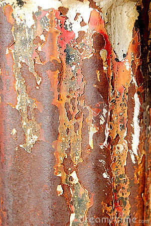 Old Rusted Pipe Macro