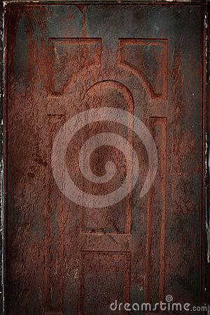 Old rusted tin background and texture